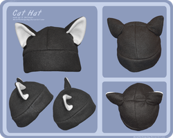 Cat Hat by Metal-CosxArt