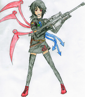 Resident Evil Style Nue by crystalgreatsword