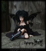Fairytasia Dark Gothic Fairy by fairytasia