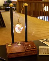 Steampunk lamp by flappybat