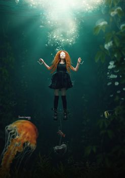 Drown in love by Ahmed-Fares94