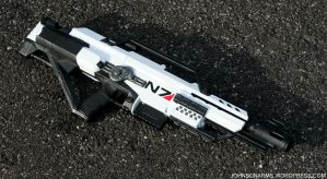 Artic Mass Effect Nerf Rifle by JohnsonArms