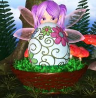 Egg Fairy by Angelic-Artwork