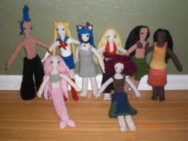 Group of dolls 2 by onlyRa
