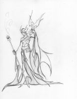 Maleficent design by echelonangel15
