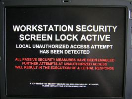Workstation Security System by guardianangelz