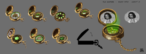 Pocket Watch Concept : The Nightmare Game Proj by SgtDelta