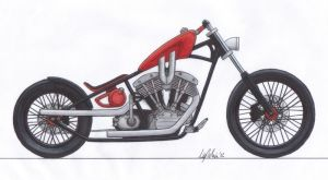 Chopper Shovelhead 2 by leokvra