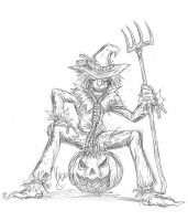 Scarecrow sketch by Vic-Neko