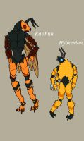 Kashun and Hybeenians by DudetteHasCake