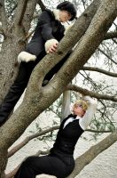 Climbing Up - Shizaya Cosplay by cloudsofsand