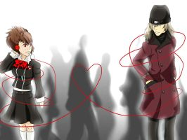 Red String of Fate by MadamNyx