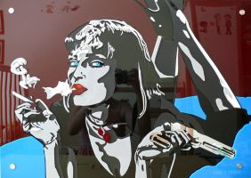 Mia Wallace Perspex by emilygray