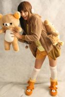YAY! it's Rilakkuma by aiko-yume
