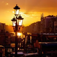 Venice sunset by AlexGutkin