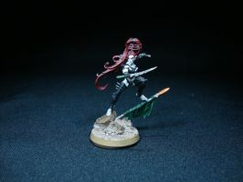 Dark Eldar - Lelith Hesperax by Quiet-Lamp