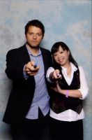 Castiel as the Doctor by saeko-doyle