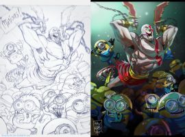 Minions: pencils n colors by ifesinachi