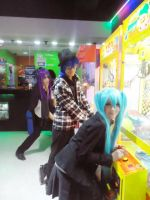 Miku Kaito and Gakupo cosplay - Videogames by SailorMappy