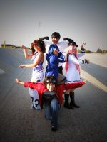 air gear : kogarasumaru pose? by le2bludragon