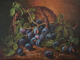Plums by dusanvukovic