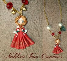 Christmas Spirit Polymer Clay by Nakihra