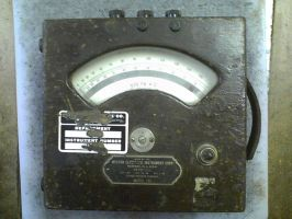 Altered Voltmeter 2 'before' by Photoguy42