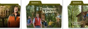 Treehouse Masters Folder Icons by nellanel