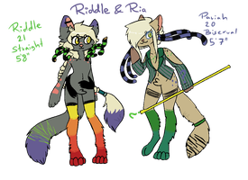Cat Sisters Ref by KryptoniteRogue