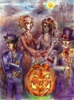 Les Mis Halloween by SirSubaru