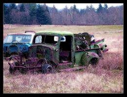 old junk and funky colour by bigmammajen