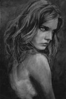 Charcoal Girl  by SubliminAlex