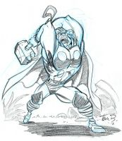 The Mighty Thor by tombancroft