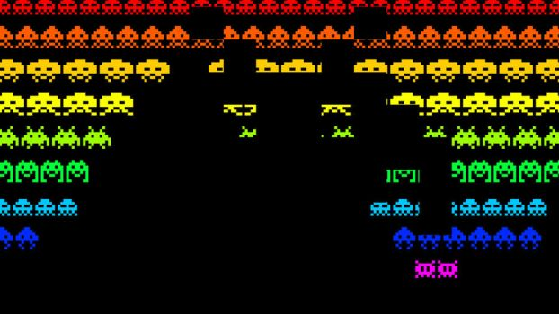 Space Invaders by DazanaMB