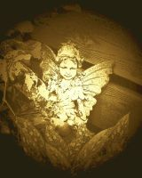 Sepia Fairy by MadGardens