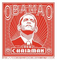 Our Chairman Obamao by RedTusker