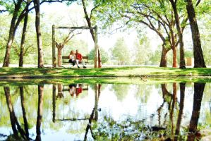 Symmetry in the Park by SublimeBudd