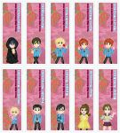 Chibi Ouran High School Host Club Bookmarks by DannimonDesigns
