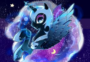 mlp-nightmare moon by yosshika