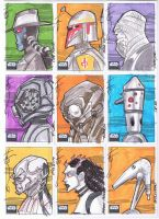 SW Galaxy 6 06 Sketch cards by Hodges-Art