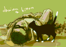 Damian+Kitten 2 by 89g