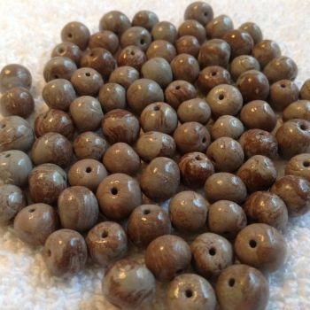 Faux Stone Beads now for sale on site! by Gold-Heart-Clay