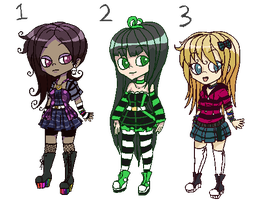 -CLOSED ADOPTS- Scene wannabe by M3LANCH0LY-AD0PTS