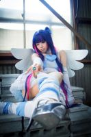 Panty Stocking Garterbelt - Stocking Angel suit by rolan666
