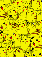 Pikachumania by JtkBasketball