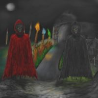 Darkness and Demonic Entities by mushroomGOD121