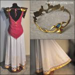 Princess Zelda: back views and details by TheIronRing