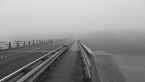 Bridge in the Mist by SlateGray
