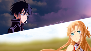 Asuna and Kirito - Dont forget me! by WendyTsq