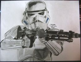 Imperial Stormtrooper by DarthRaveen